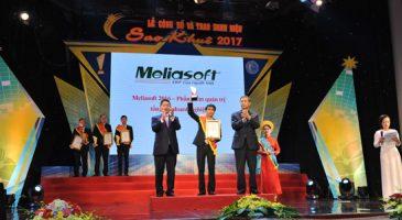 Phóng sự Meliasoft nhận giải Sao Khuê 2017 - VTC2
