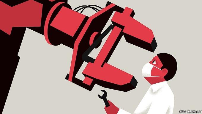 Covid-19 có thúc đẩy robot 'cướp' việc của con người?